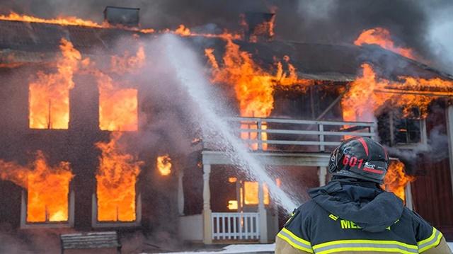 Máy bơm chữa cháy đảm bảo cung cấp nguồn nước để dập tắt hỏa hoạn